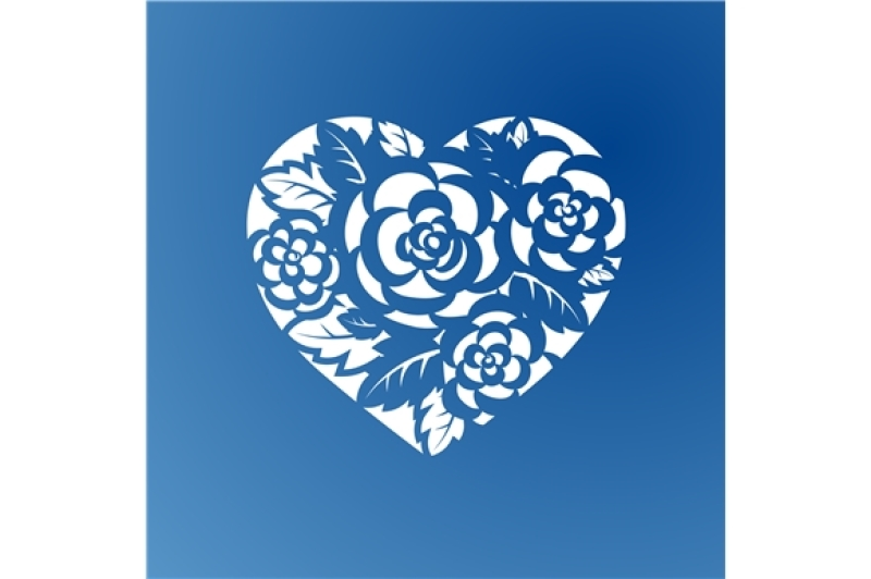 template-heart-with-roses-for-laser-cutting