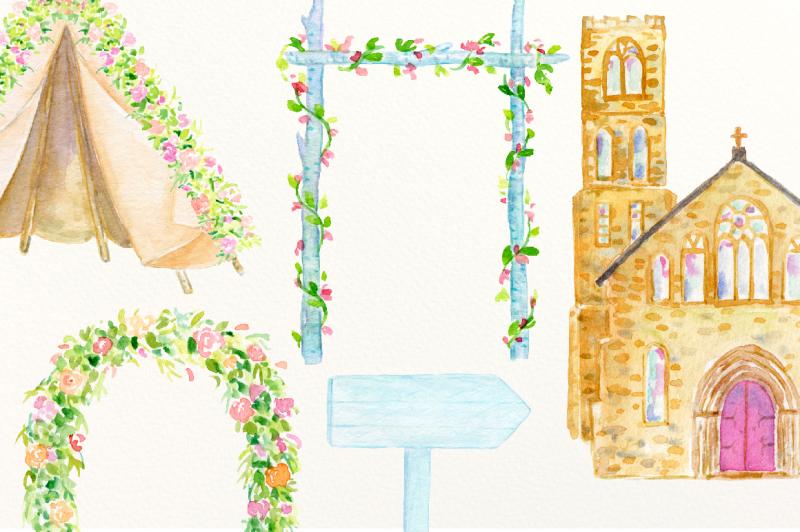 watercolor-clipart-wedding-venues