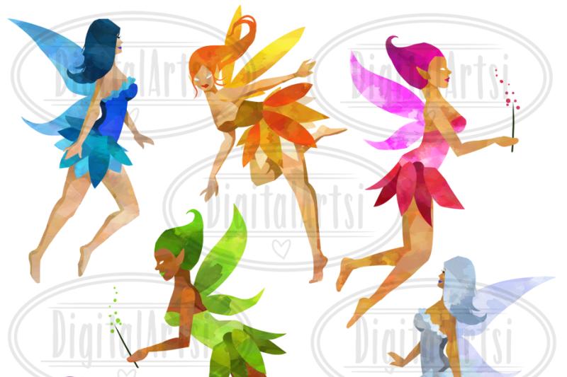 watercolor-fairies-clipart