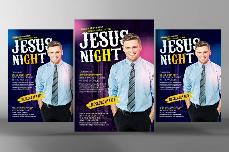 pastor-s-church-flyers-template