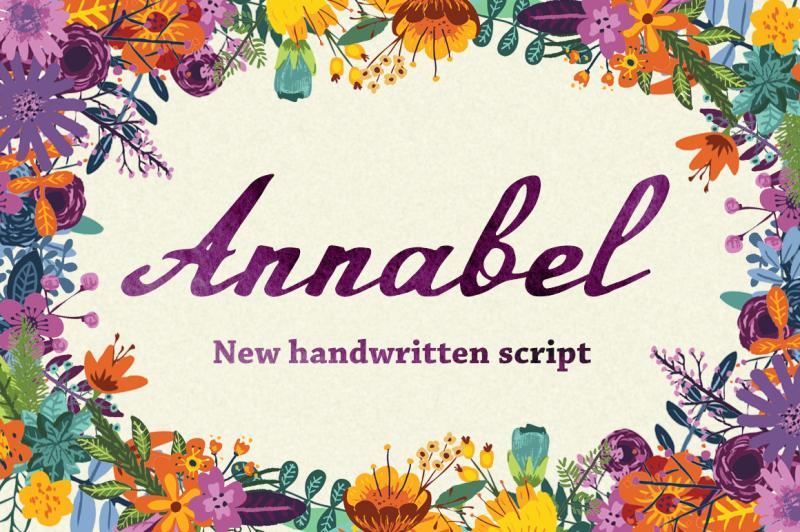 annabel-script-typeface