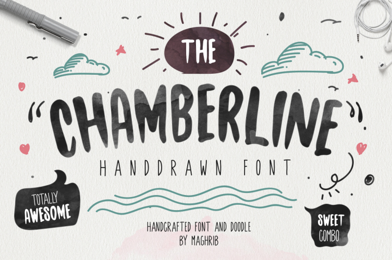 chamberline-and-doodle-vector
