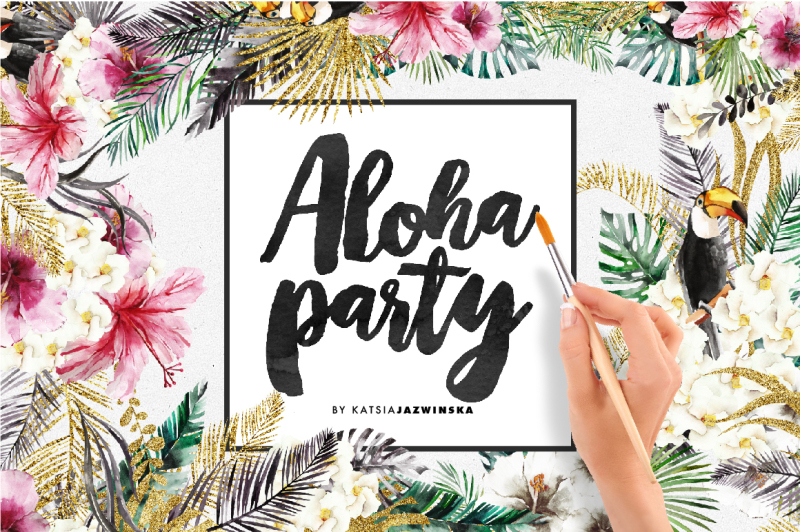 aloha-party-watercolor-set
