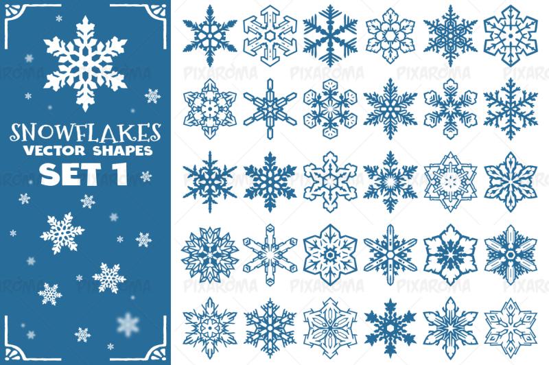 decorative-snowflakes-vector-shapes-set-1