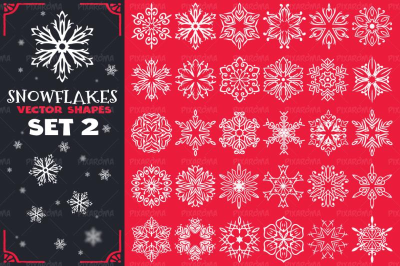 decorative-snowflakes-vector-shapes-set-2