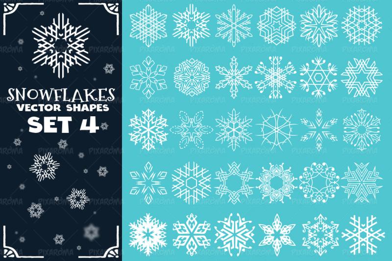 decorative-snowflakes-vector-shapes-set-4