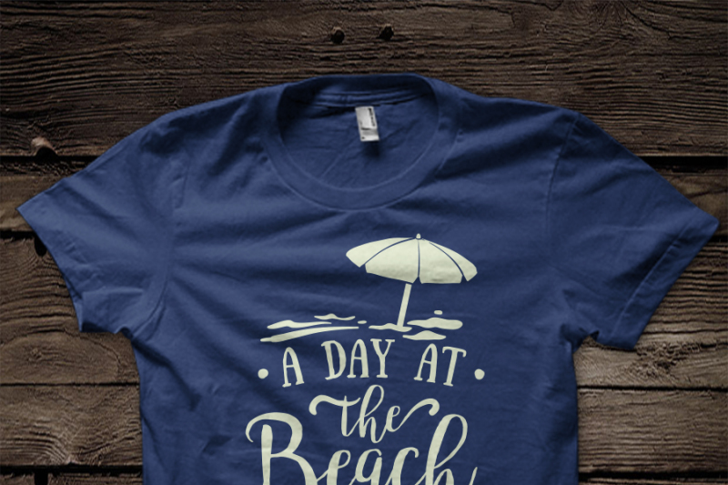 A Day At The Beach Gives Me Back My Peace Svg File By