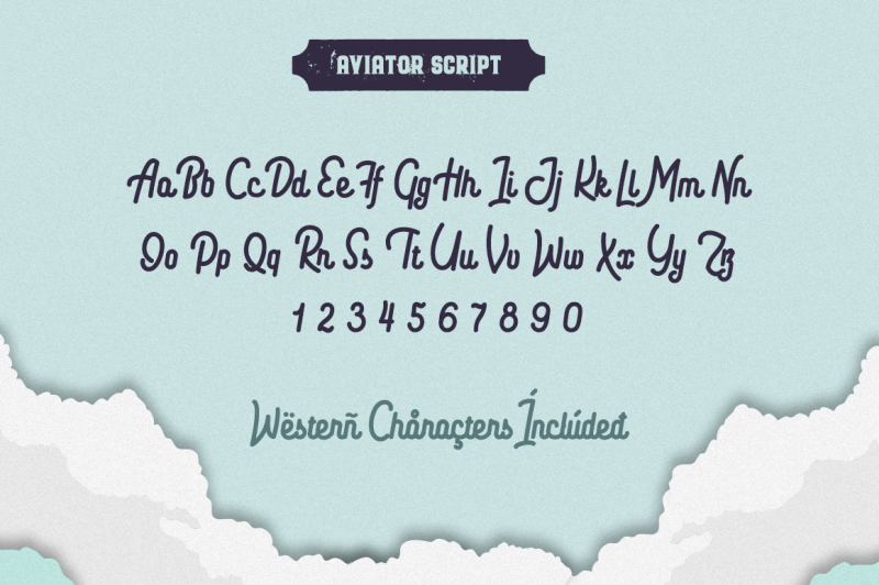 the-aviator-font-collection