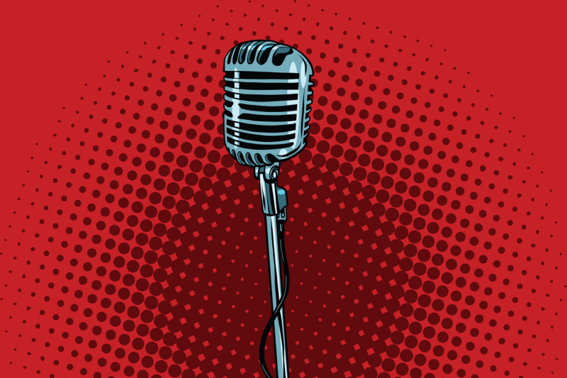 retro-microphone-and-stand