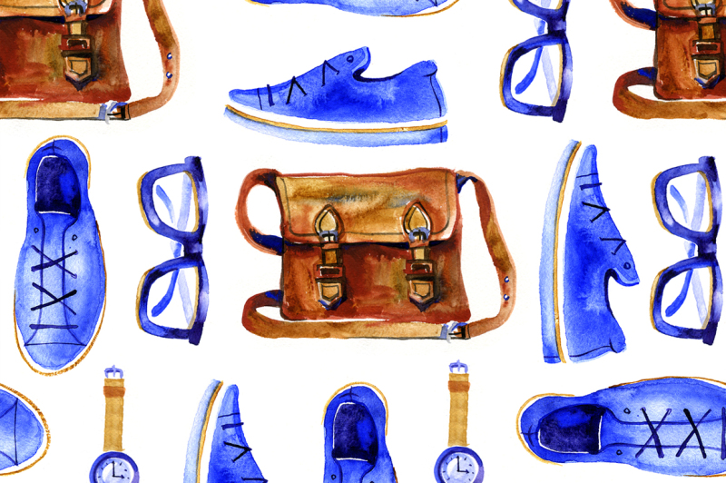 watercolor-hipster-look-for-travel