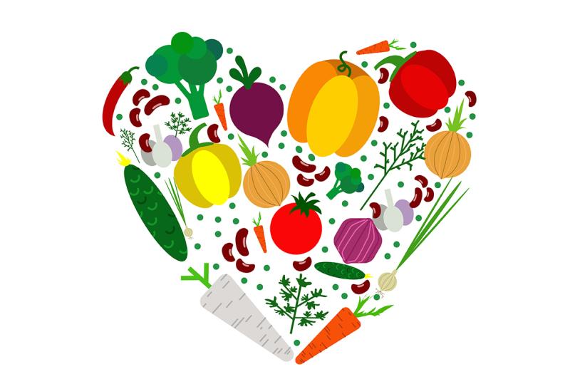 18-vegetables-set