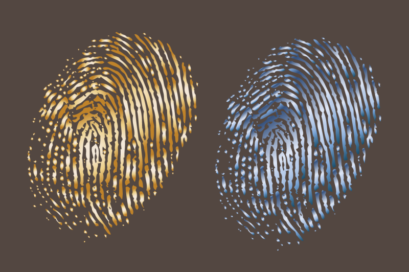 vector-finger-prints-texture-amp-objects