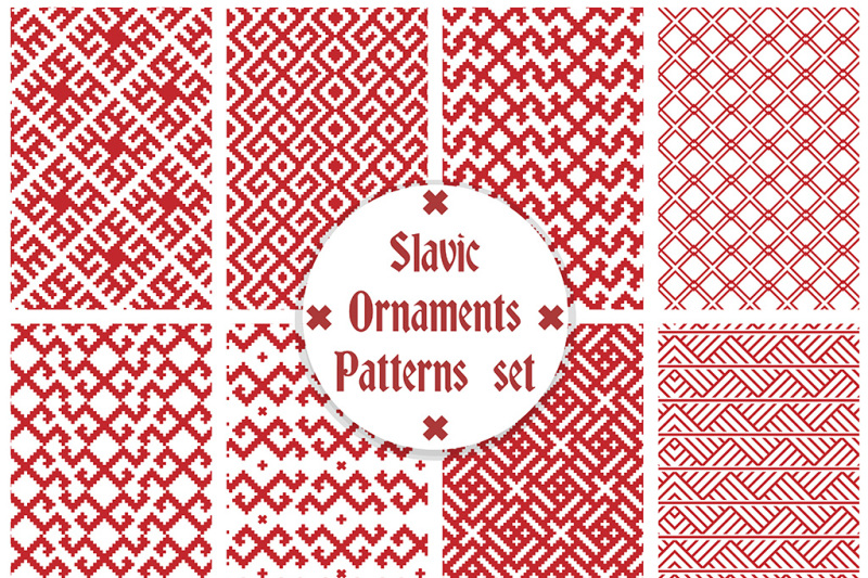 slavic-ornaments-seamless-patterns-vector-set