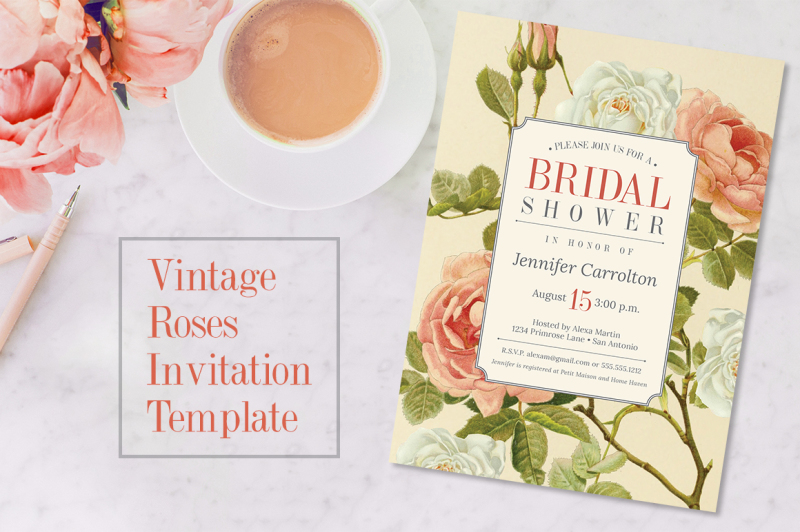 vintage-roses-bridal-shower