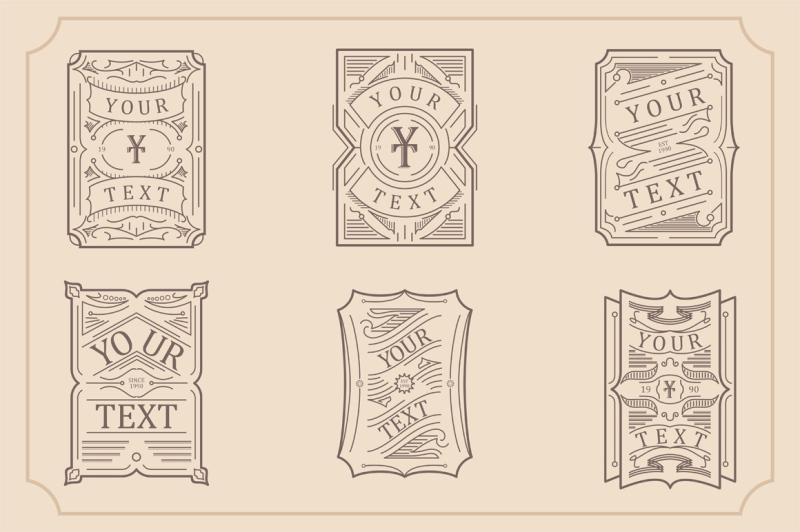 vintage-line-badges