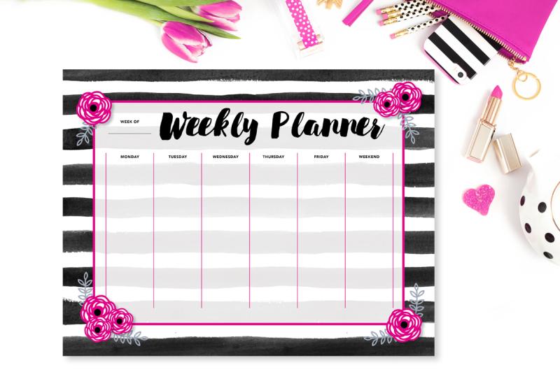 pink-and-black-weekly-planner