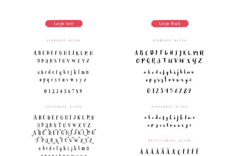 latype-font-family-70-percent-off
