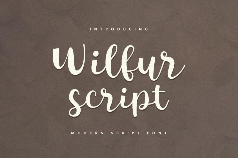 wilfur-script