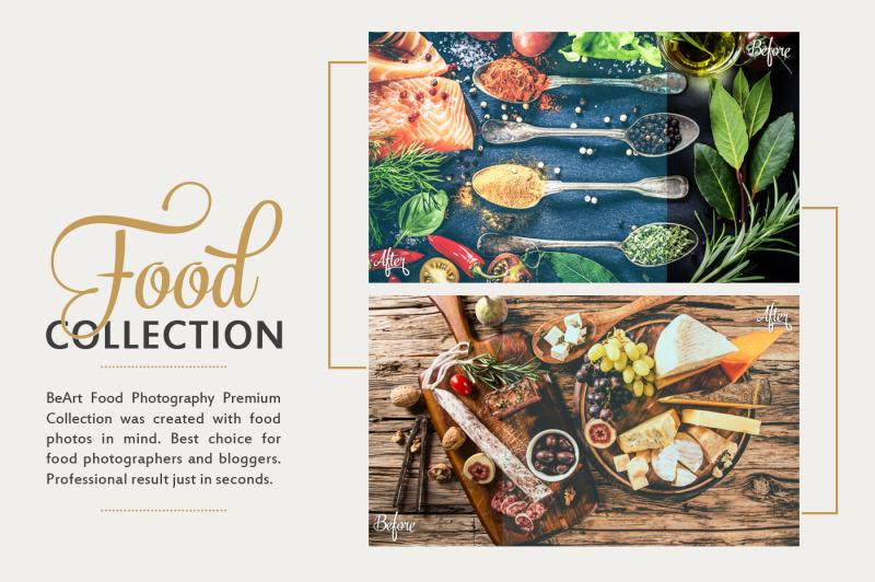 food-lightroom-presets-collection
