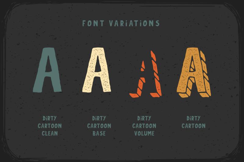 dirty-cartoon-font