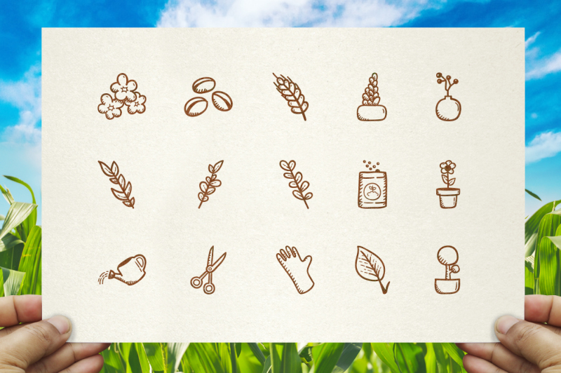 plant-ang-garden-hand-drawn-icons