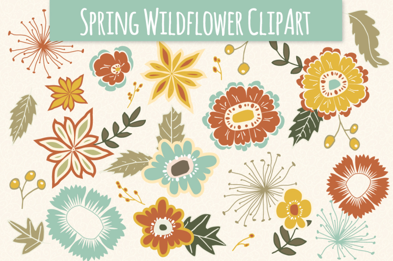 spring-wildflower-clip-art-and-vectors