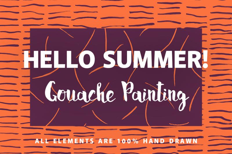 gouache-hello-summer-background