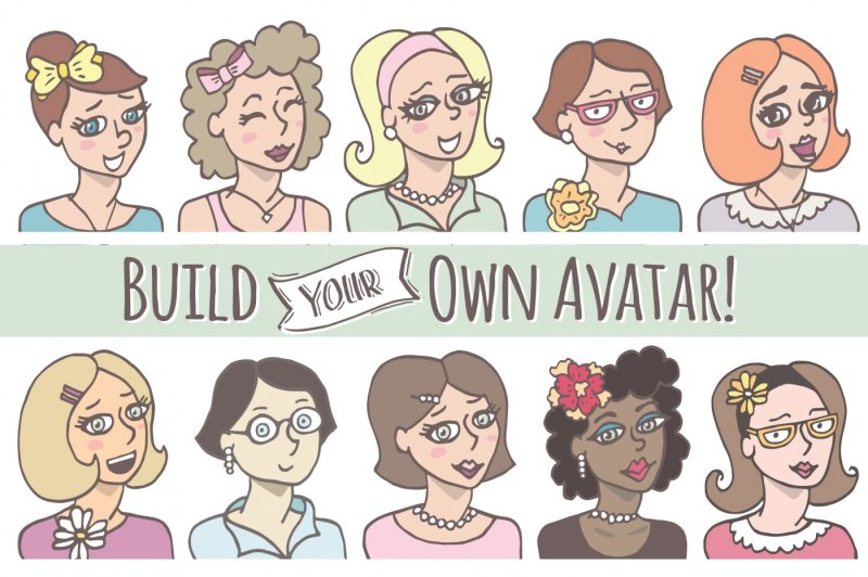 build-your-own-avatar-lady