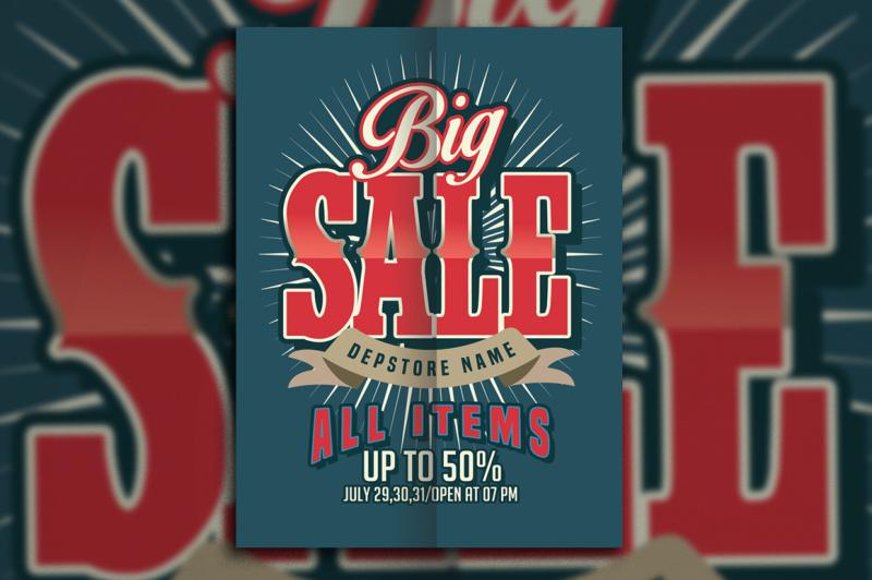 big-sale-retro-style