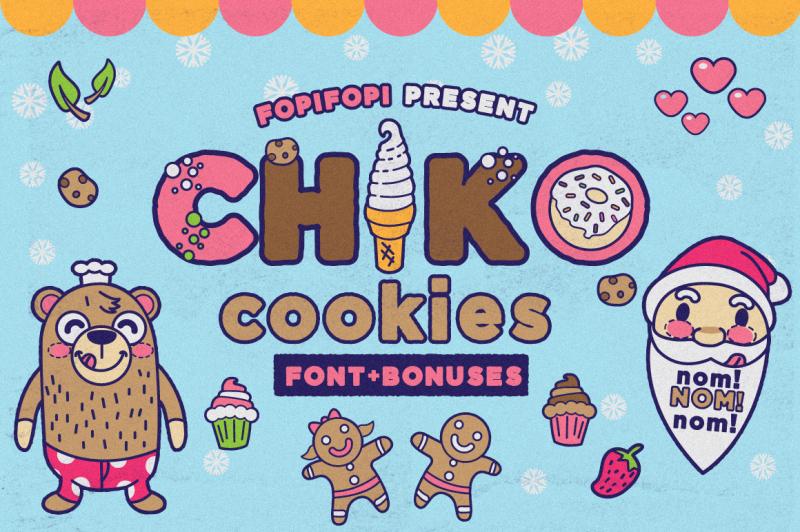 chiko-cookies-font-bonus