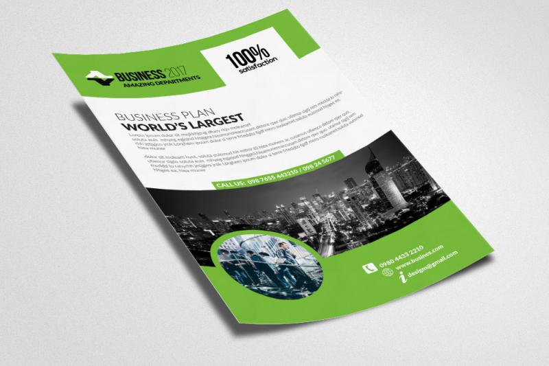 business-flyer-psd-template