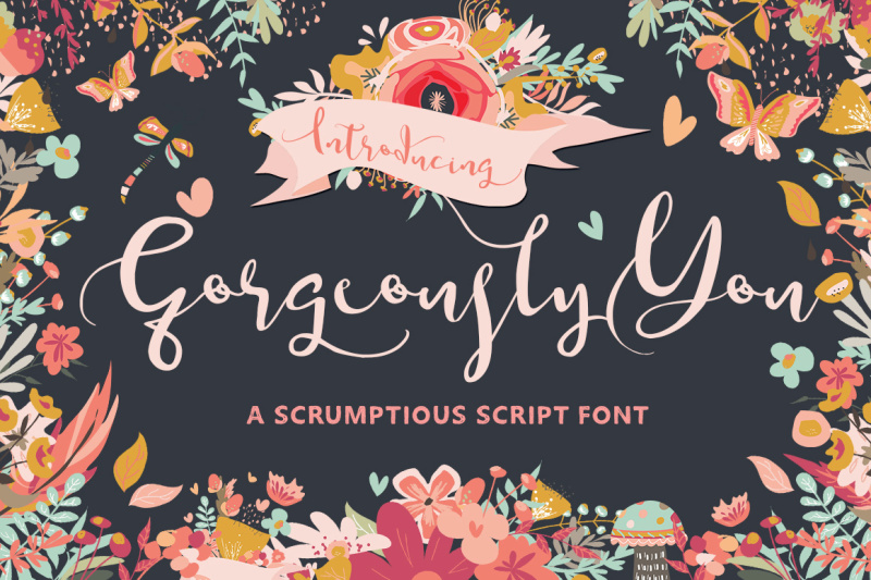 digital-wedding-font-gorgeously-you-digital-download-hand-drawn-script-font-calligraphy-cursive-font