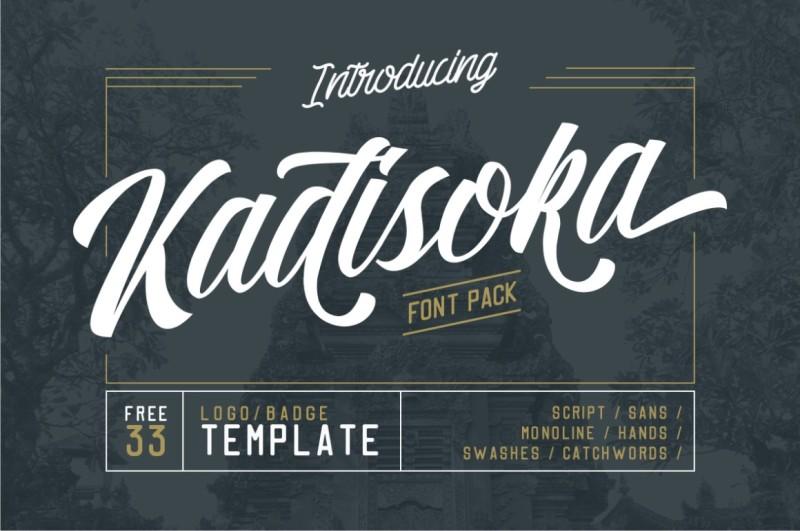 kadisoka-font-pack