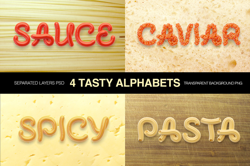 tasty-letters-font