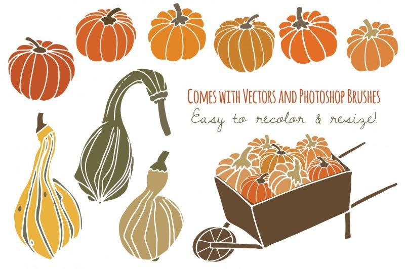 pumpkins-and-gourds-clip-art