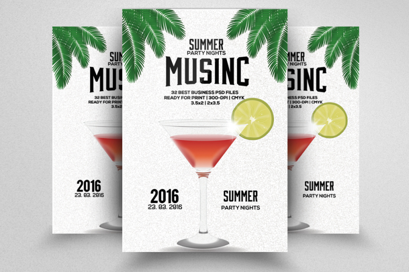 cocktail-summer-party-flyer-template