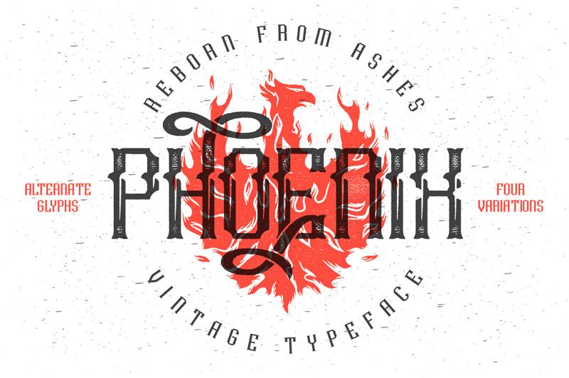 phoenix-typeface