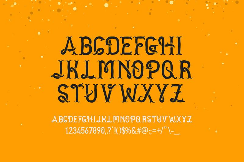 golden-dust-typeface
