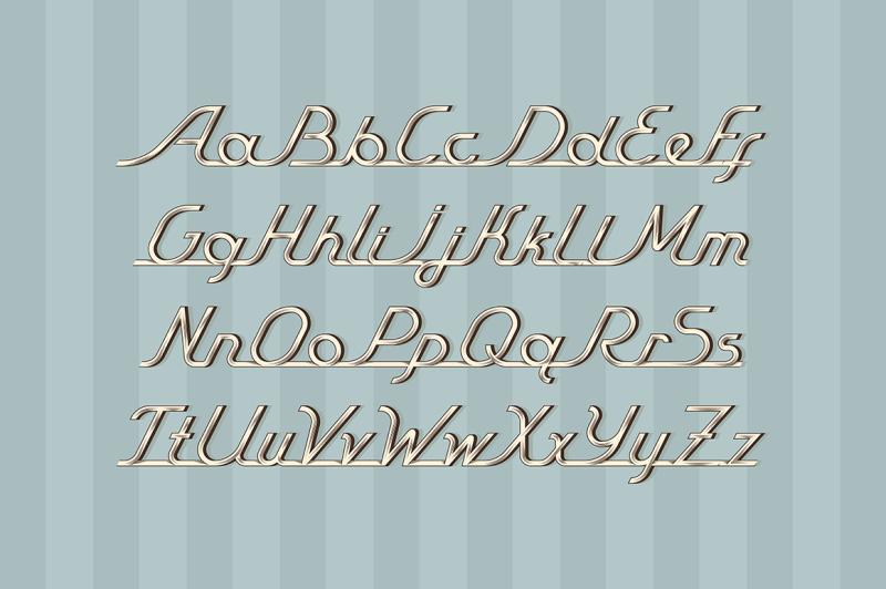 vintage-auto-font