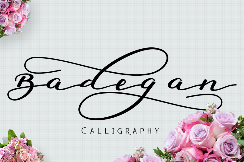 badegan-calligraphy