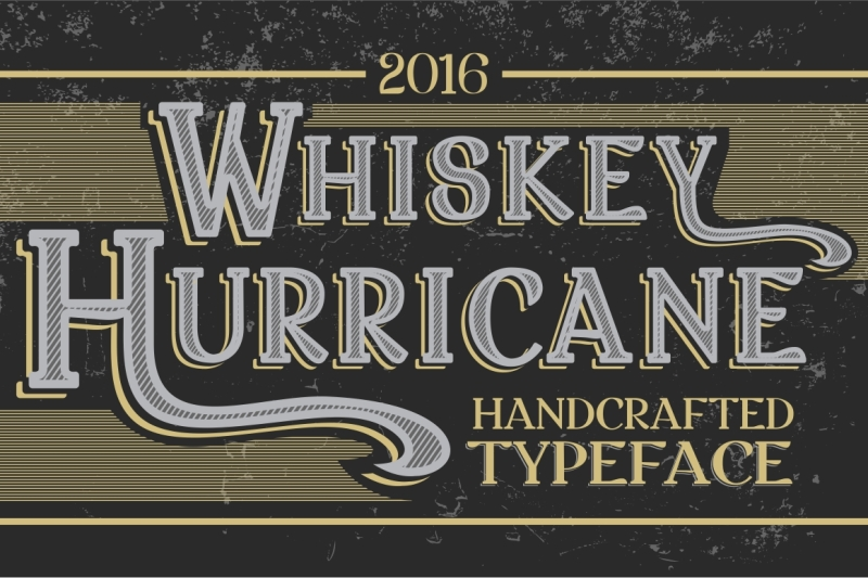 whiskey-hurricane-handcrafted-letters