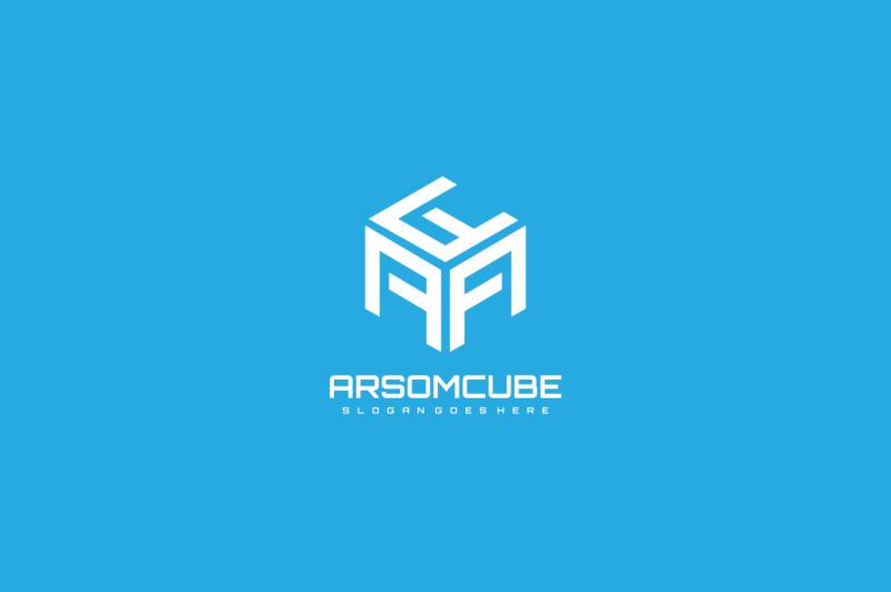 a-letter-hexagonal-logo