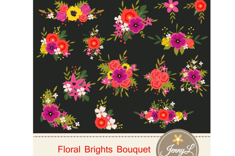 floral-flower-bouquet-cliparts