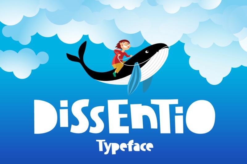 dissentio-typeface