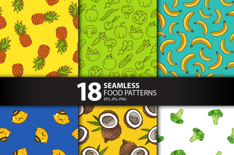 18-seamless-food-patterns