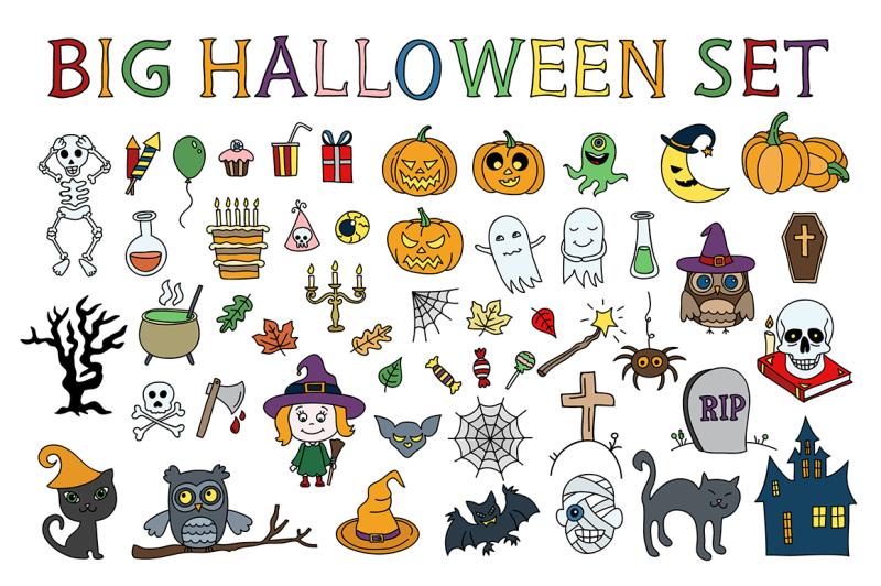 big-halloween-set