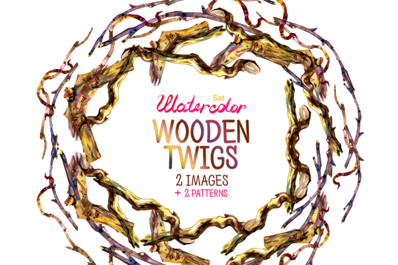 watercolor-wooden-twigs