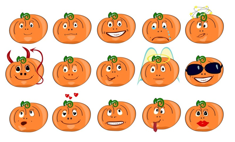 pumpkins-with-different-emotions-icons-isolated-on-white-background-the-two-files-are-in-jpeg-format-with-a-resolution-of-300-dpi-and-eps-10-suitable-for-printing-and-illustrations-of-any-size-for-use-in-the-chat