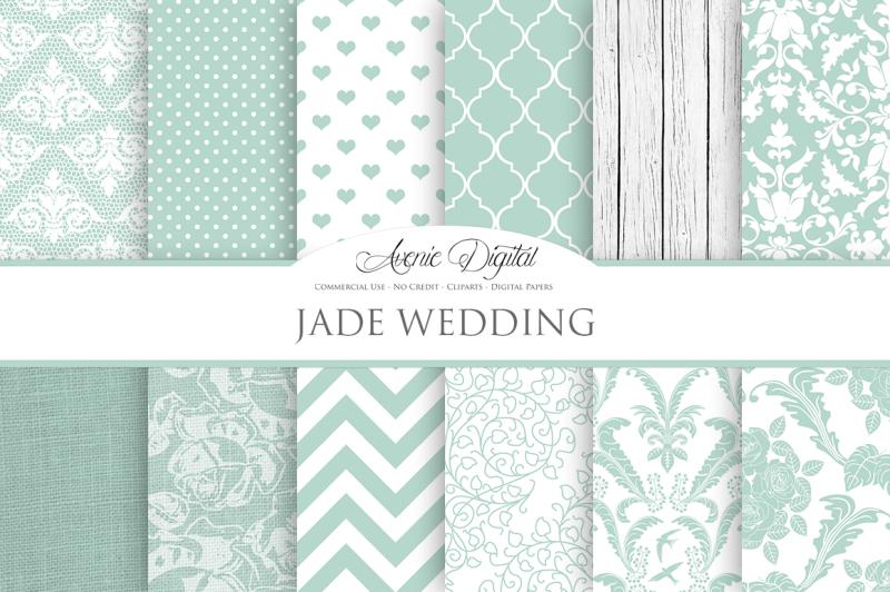 jade-wedding-digital-paper