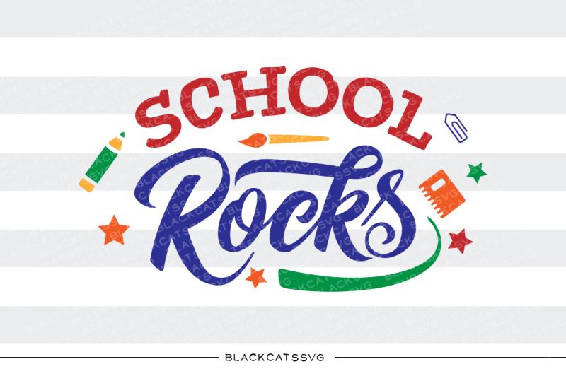 school-rocks-svg-file